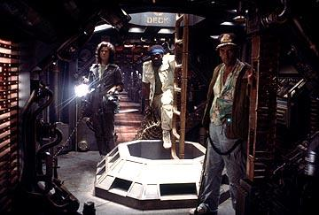 Sigourney Weaver , Yaphet Kotto and Harry Dean Stanton in 20th Century Fox's Alien