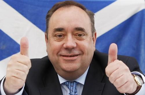 Alex Salmond's SNP secured an unprecedented victory by taking a majority of seats in the Scottish Parliament election