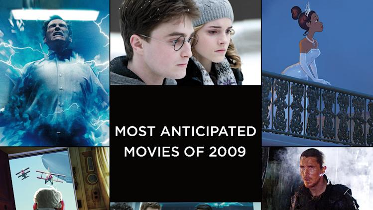 Most Anticipated Movies of 2009 Title Card