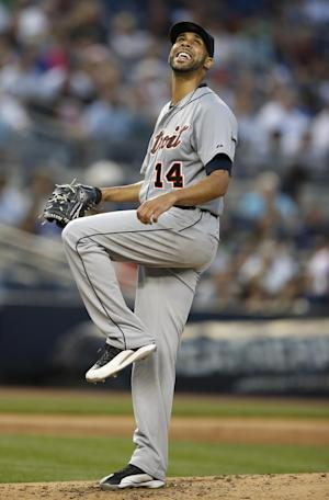 Price fans 10, Avila HRs in 12th, Tigers top Yanks