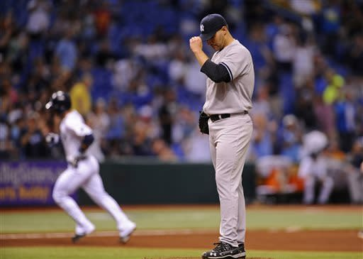 Cobb has strong start as Rays beat Yankees 3-0