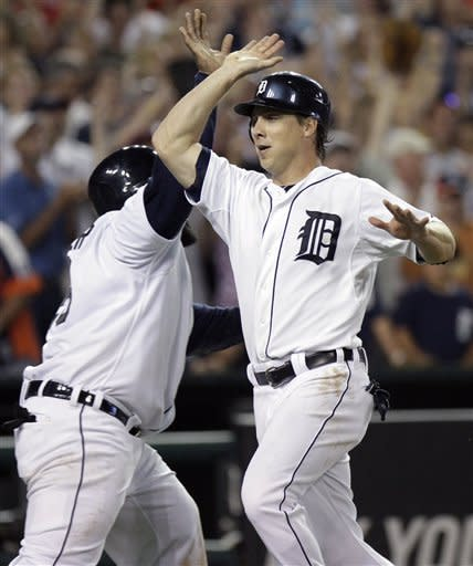 Tigers rally with 3 in 8th, beat Angels 5-3