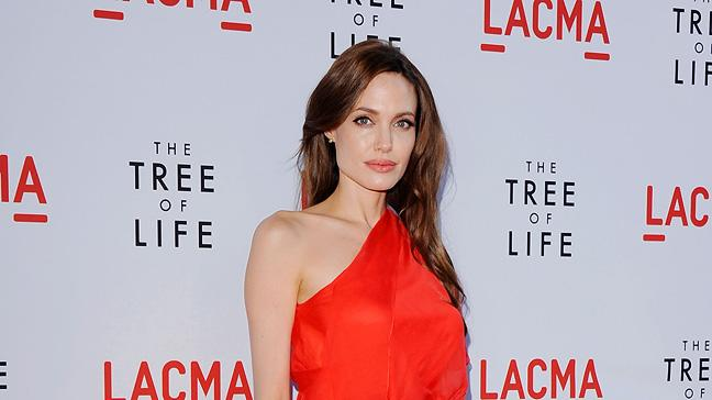 Tree of Life LA Premiere 2011 Angelina Jolie