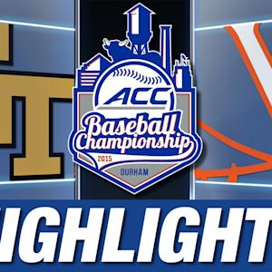 Georgia Tech vs Virginia | 2015 ACC Baseball Championship Highlights