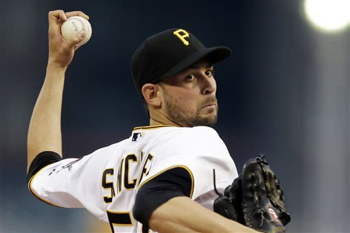 """Pirates RHP McDonald says he's """"fine"""" just off"""