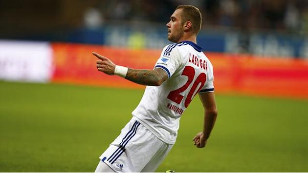 Bundesliga - Lasogga hits hat-trick as Hamburg crush Nuremberg