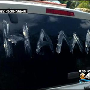Two Vehicles Damaged In Apparent Miami Beach Hate Crime