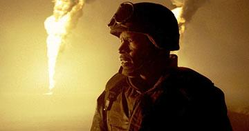 Jamie Foxx as Sgt. Siek in Universal Pictures' Jarhead