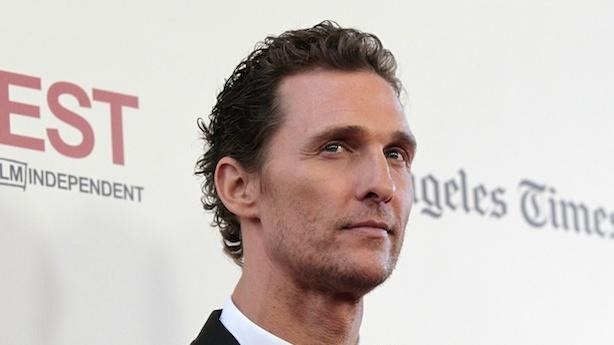 Matthew McConaughey Keeps Movin' On Up