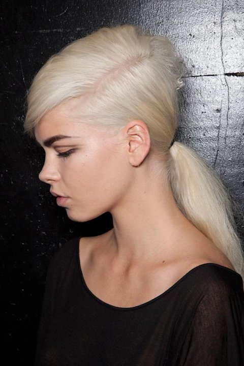 Platinum Blond Hair