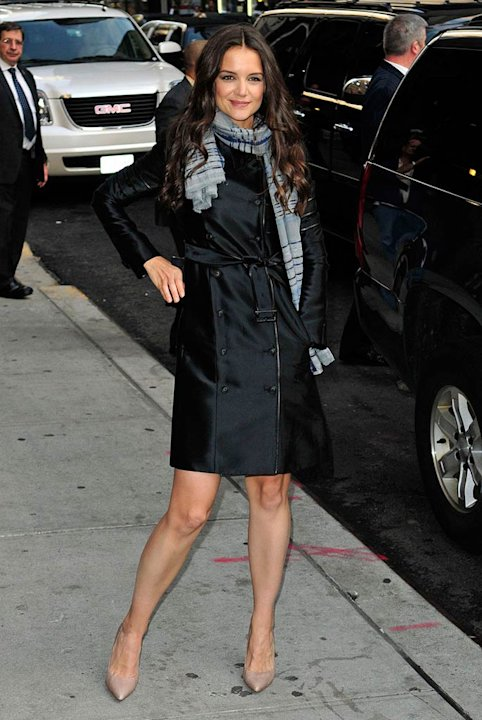 Katie Holmes David Letterman