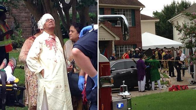 Dozens injured in collapse at Houston-area home