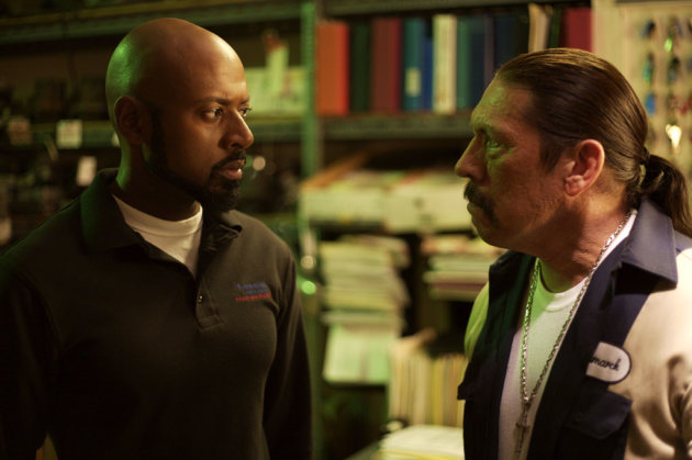 Romany Malco Danny Trejo Saint John of Las Vegas Production Stills IndieVest 2010