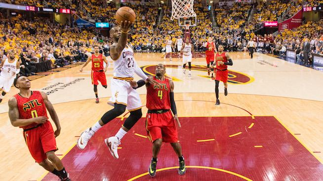 4 Things to Watch in Game 2 Between the Cavs and Hawks