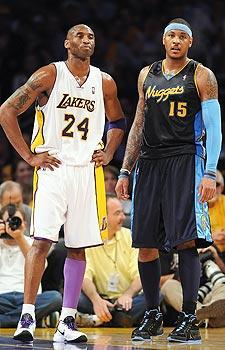 Kobe advises 'Melo to carefully weigh decision
