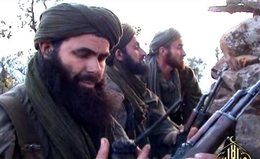 Abdelmalek Droukdel, the head of Al-Qaeda in the Islamic Maghreb, pictured in an undated photo courtesy of Al-Andalus. An Algerian court sentenced the leader of Al-Qaeda&#39;s north African branch and seven other Islamists to death Thursday for a series of murders and bombings, though most were tried in absentia