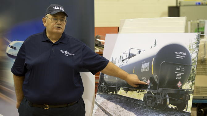 Oil in Quebec train disaster was mislabeled
