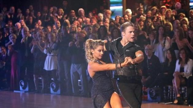 Shawn Johnson and Derek Hough perform an Argentine tango to 'Bad' on 'Dancing with the Stars: All-Stars,' Nov. 19, 2012 -- ABC