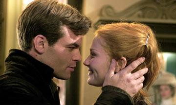 Daniel Gillies and Kirsten Dunst in Columbia Pictures' Spider-Man 2
