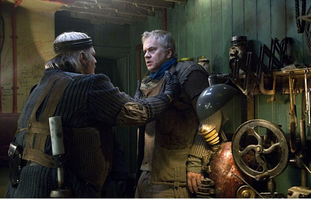 Tim Robbins City of Ember Production Stills Fox Walden 2008