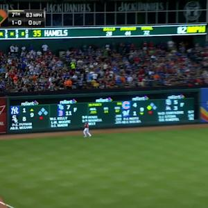 Posey's solo homer