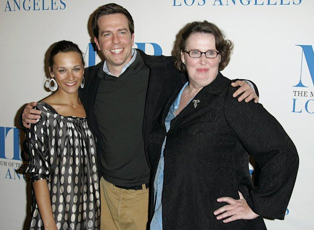 Rashida Jones, Ed Helms and Phyllis Smith at The 24th Annual William S. Paley Television Festival - An Evening with &quot;The Office.&quot; 