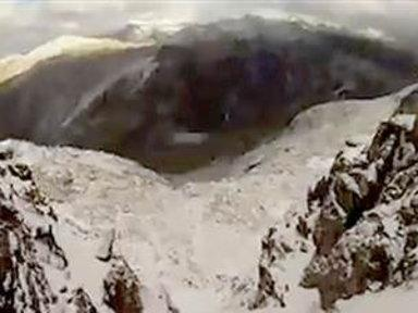 Caught On Camera: Ice Climber's Terrifying Fall