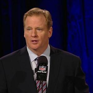 NFL Commissioner Roger Goodell: Technology will drive NFL improvements