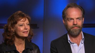 Susan Sarandon And Hugo Weaving Discuss Their 'Cloud Atlas' Transformations