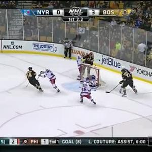 Henrik Lundqvist Save on Loui Eriksson (19:58/1st)