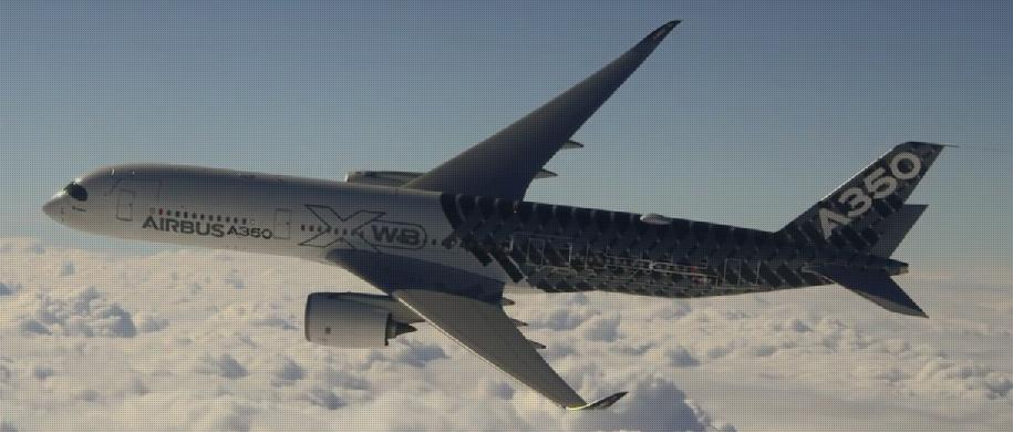 Airbus A350 XWB used more than 1,000 3D printed parts