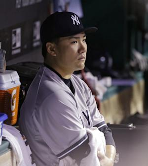 Yankees RHP Tanaka apologizes for being injured