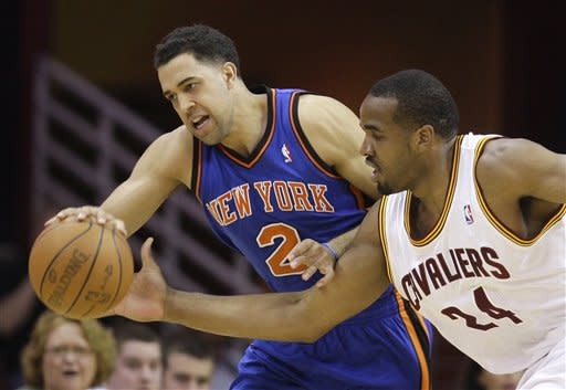 Cavaliers stun playoff-bound Knicks