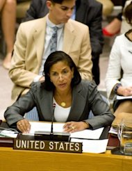 "The US ambassador to the UN, Susan Rice (pictured in August), on September 16 described the deadly assault on a US consulate in Libya as a ""spontaneous attack"" that took place on the 11th anniversary of the September 11, 2001 terror strikes on the US"
