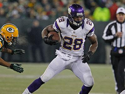Adrian Peterson Wins AP 2012 NFL MVP