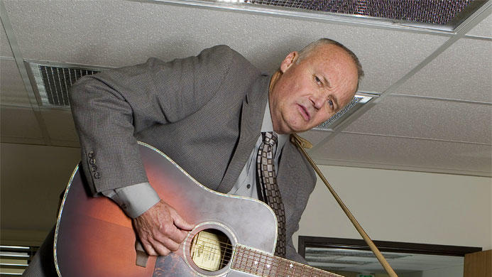 Creed Bratton stars as Creed on NBC's The Office.