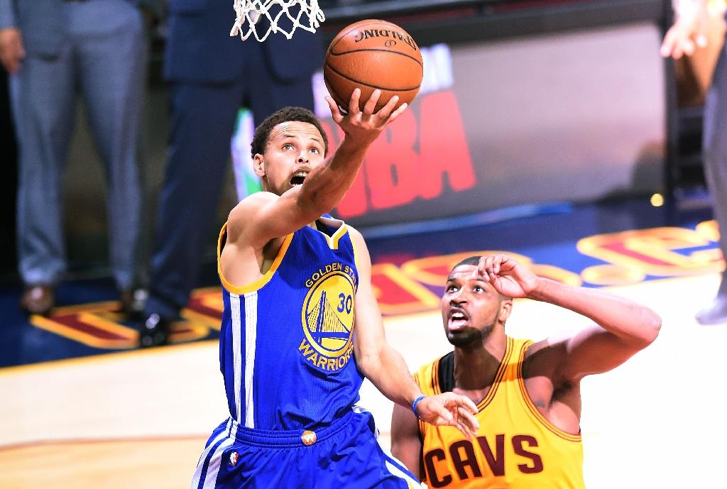 MVP Curry vows to win second straight NBA title