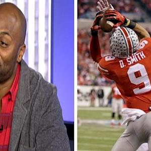 Amani Toomer gives college football playoff prediction