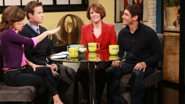 Stephanie and Octavio from TLC's 'Extreme Cougar Wives' stops by Access Hollywood Live on November 21, 2012 -- Access Hollywood