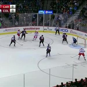 Reto Berra Save on Eric Staal (03:21/1st)