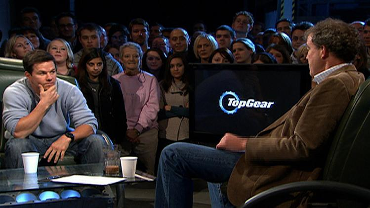 "Guest Mark Wahlberg on <a href=""/baselineshow/4742776"">""Top Gear.""</a> Top Gear (NBC)"