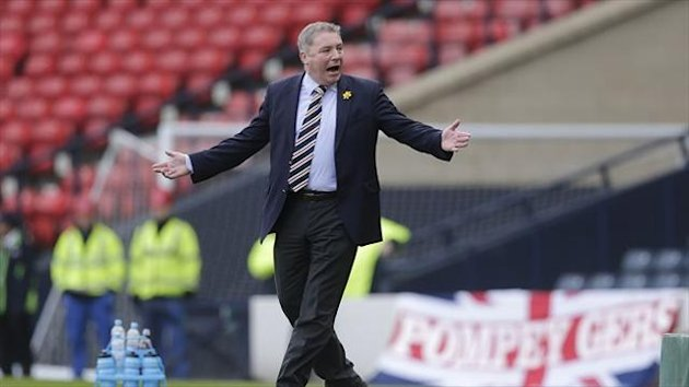 Ally McCoist's men will entertain Newcastle at Ibrox