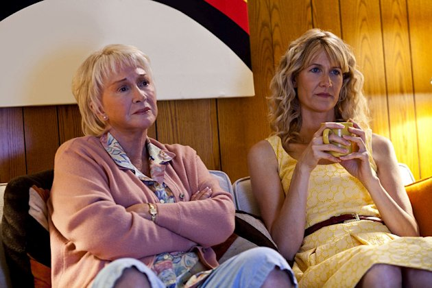 "Diane Ladd as Helen and Laura Dern as Amy in ""Enlightened."""