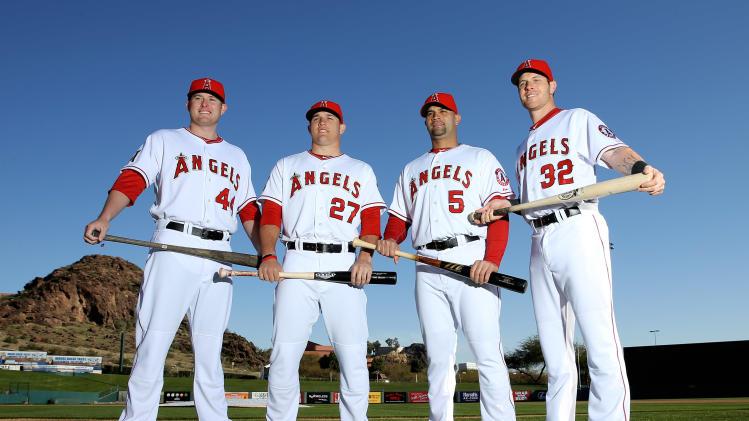 MLB: Los Angeles Angels-Photo Day