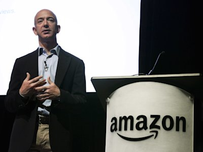 Amazon CEO Jeff Bezos