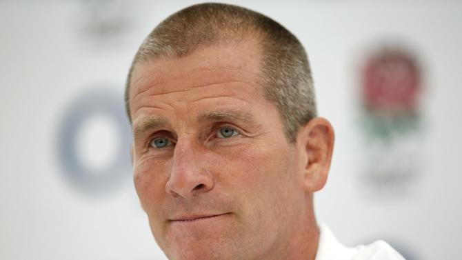 England Head Coach Stuart Lancaster during the press conference