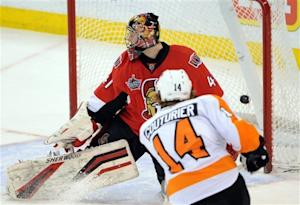 Kuba caps Senators' comeback win over Flyers