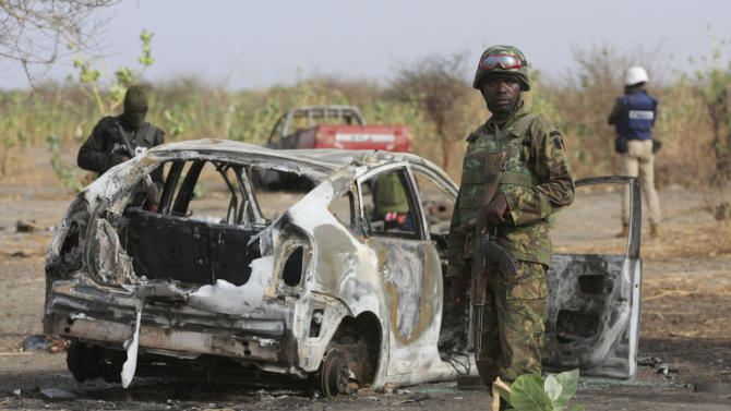 Challenges at frontline of Nigeria extremist fight