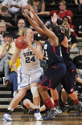 Duke women overwhelm Samford in NCAA 1st rounder
