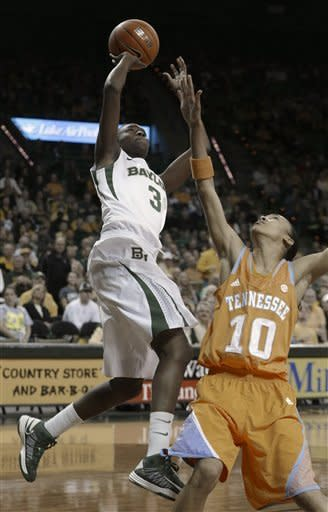 No. 3 Baylor women beat No. 10 Tennessee 76-53